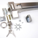 stainless steel 304 fire door panic bar panic exit device/Germany quality Guaranteed for 5yrs