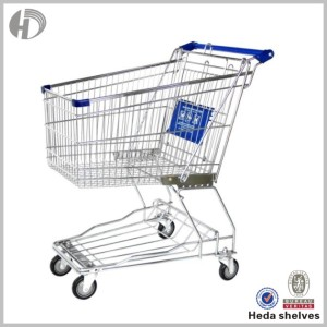 2017 hot sale Electric shopping trolley with good surface treatment