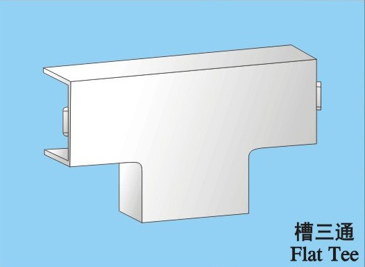 100X50mm pvc trunking tray way fitting kit accessories 25X25MM coupler tee f;at angle