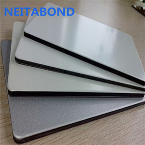 Factory supply 4mm aluminium composite panels with PVDF and PE coating