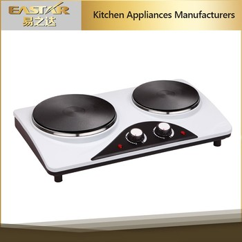Kitchen Lience 2 Burner Hot Plate Cooktop Cooking Electric Heater Stove