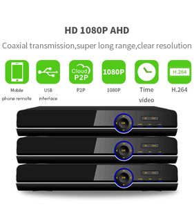 P2P DVR support HD 5 in 1 safeguard dvr cctv hybrid 16 channel dvr housing
