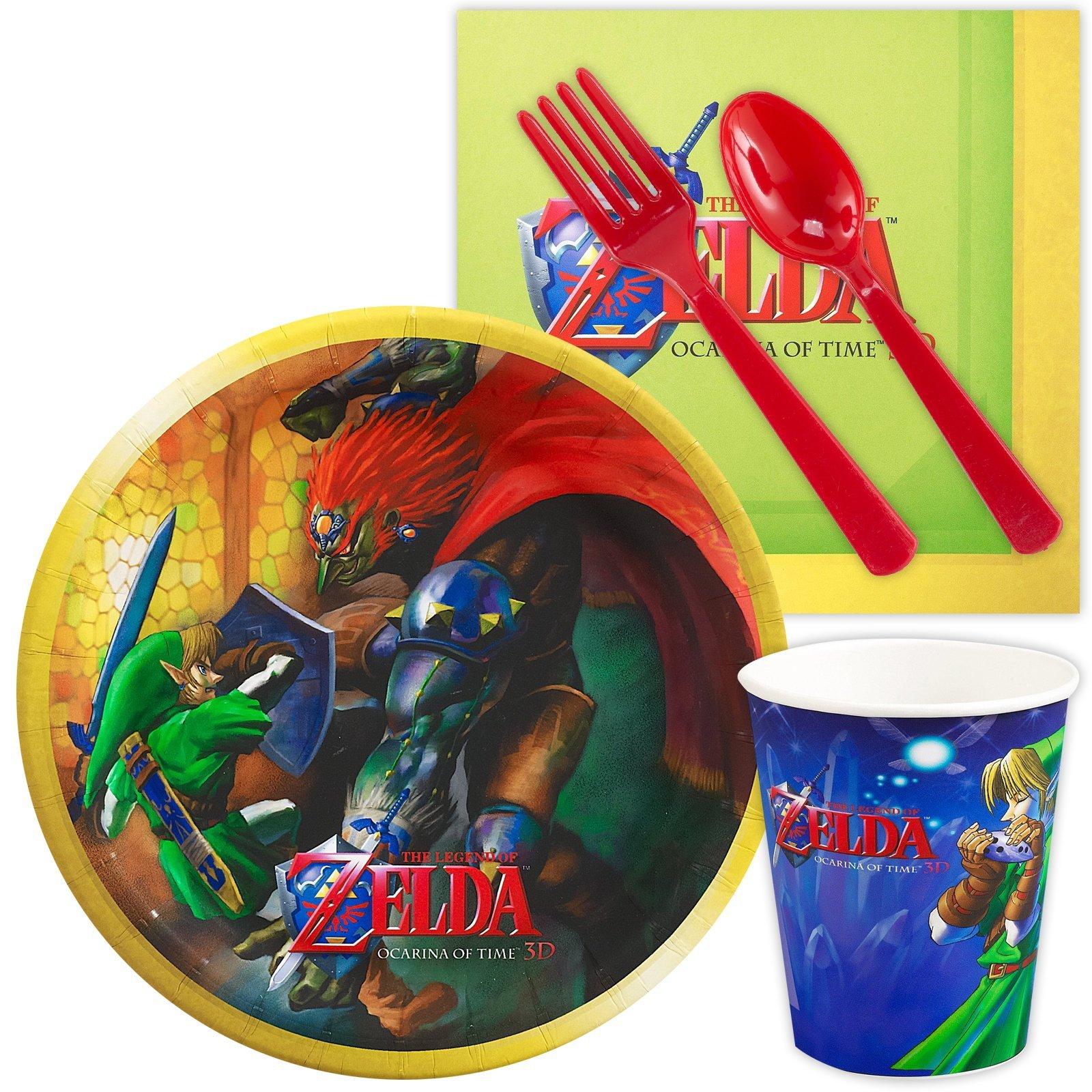 ZELDA Birthday Party Supplies Set Link Twilight Princess Ocarina of Time