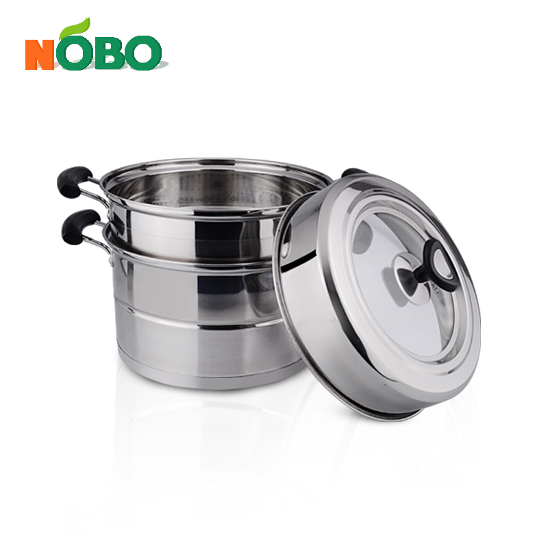 Multifunction Food Steamer Pot with Metal Lid