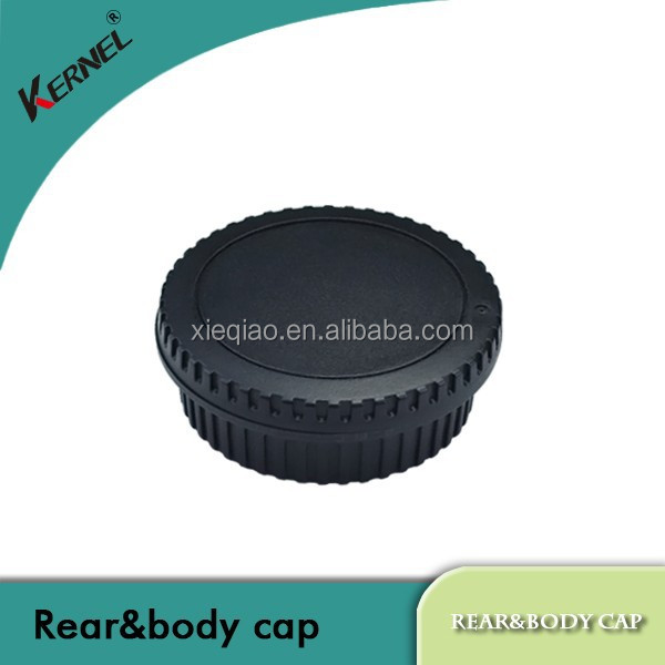 Kernel Body Cover + Lens Rear Cap for CANON EOS Camera and Lens Protect