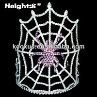 8 inch Spider Crowns Halloween Pageant Crowns