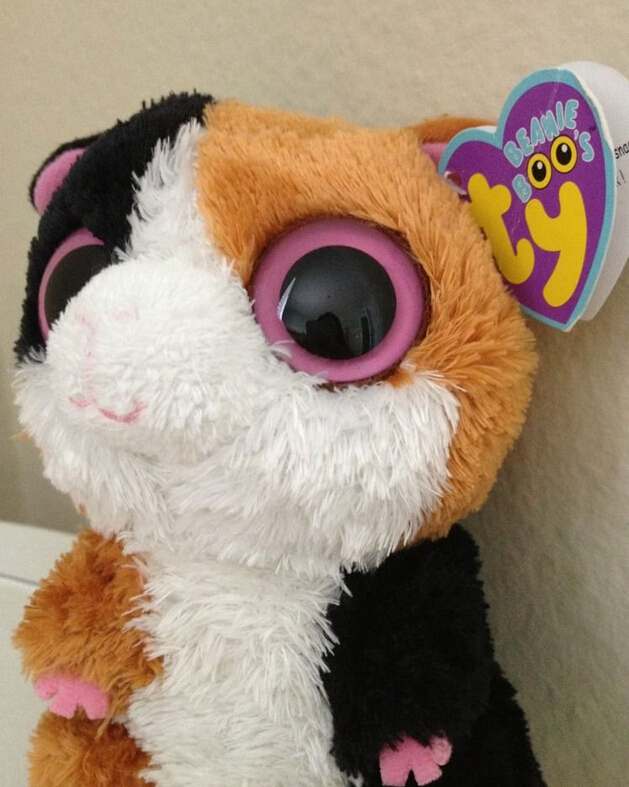 World of Beanie Boos  my first and favorite beanie boo nibbles f50dfad7ae2