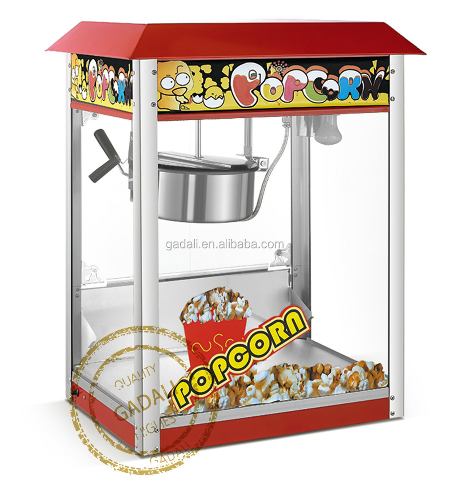 hot sale factory supply make popcorn machine, popcorn making machine, electric popcorn maker(801)