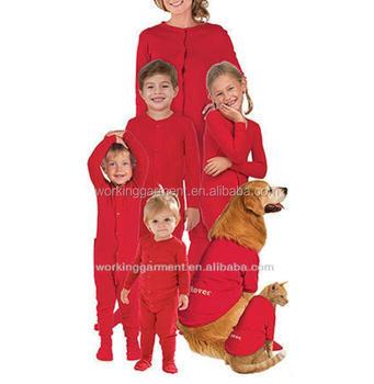 soft fleece family matching christmas pajamas