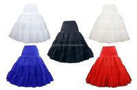 50s wholesale long ruffle tulle big puffy petticoat