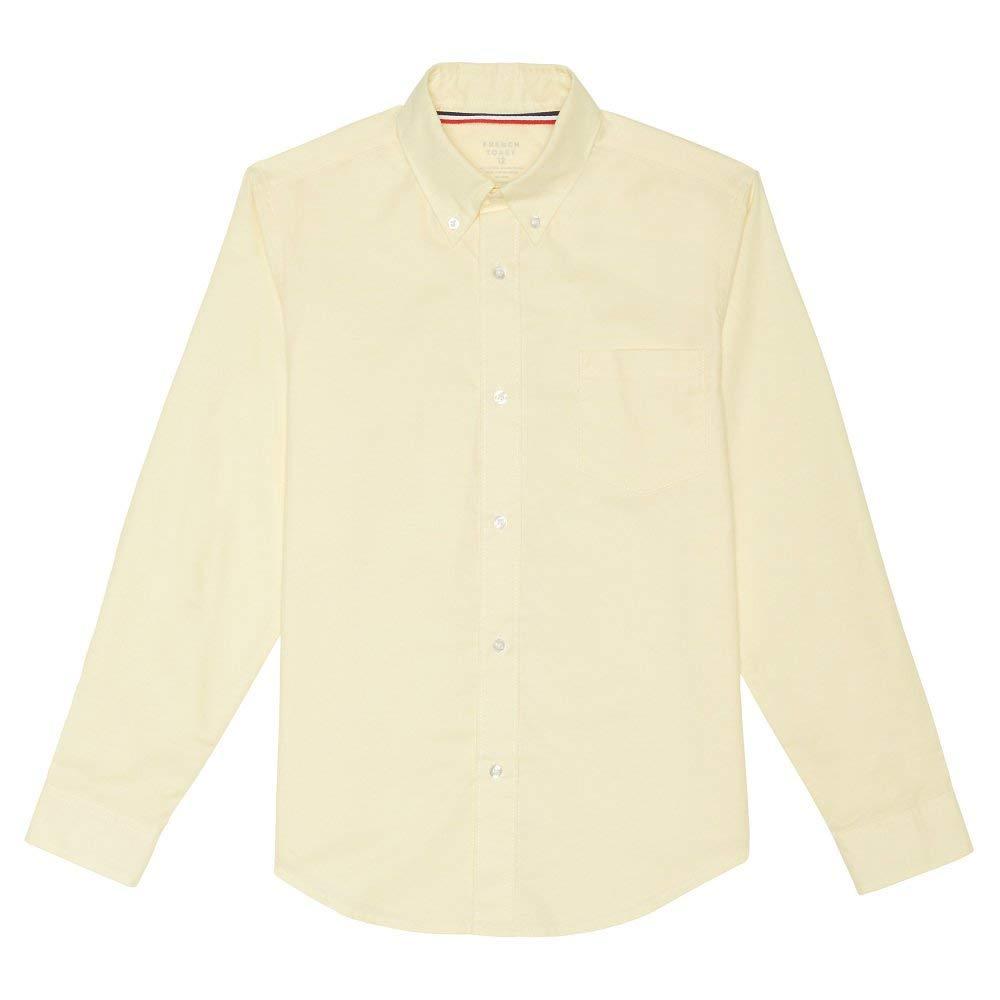 ca925ef5c Get Quotations · French Toast - Big Boys  Husky Long Sleeve Oxford Dress  Shirt