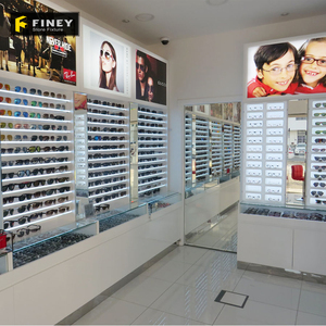 Modern Optical Display Cabinets for Eyewear Shop Displays