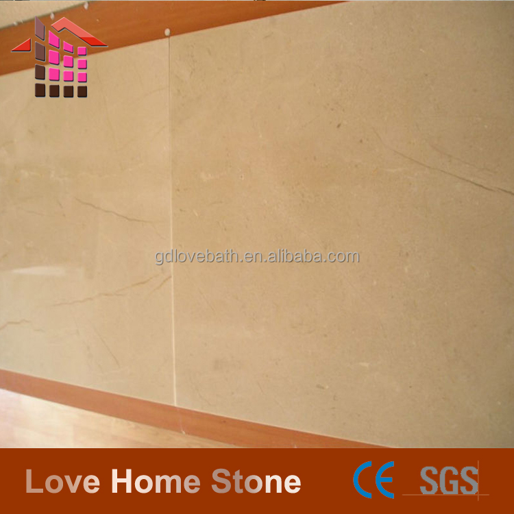 Cheap wholesale bianco teseo high-grade tile cream marfil marble