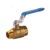 PN25 Brass Female & Male Ball Valve