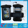 wholesale clear mobile phone pvc waterproof beach bag for iphone 5
