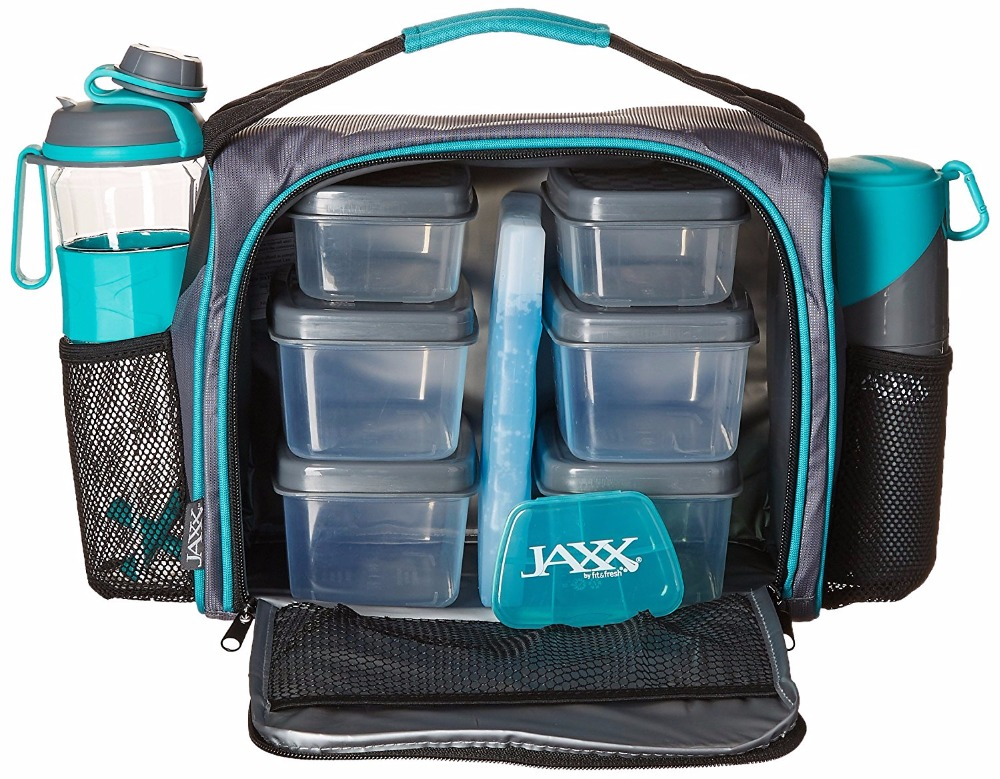 6 Pack Fitness Meal Lunch Bag For Gym