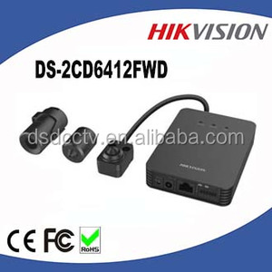 Hikvision 1 3MP WDR Pinhole Covert Network Camera DS-2CD6412FWD