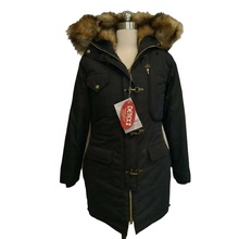 Dark Navy Staccabile Gilet di Pelliccia <span class=keywords><strong>Fodera</strong></span> In Pelliccia Del Faux Delle Donne Parka