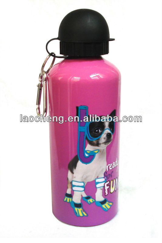 600ml kids water bottle, trave bottle, military water bottle with BPA&SGS test