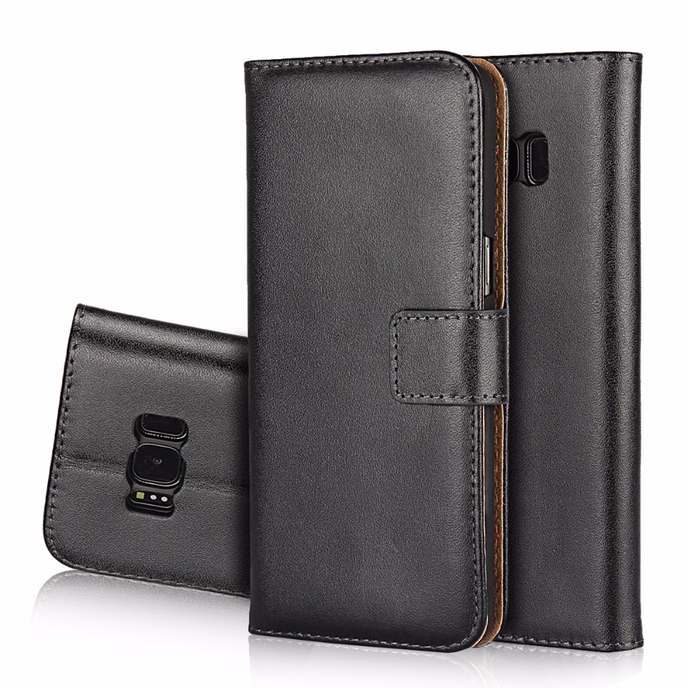 Phone Accessories Mobile Leather Wallet Case for Samsung Galaxy S2 S3 S4 S5 Mini S6 S6 Edge S7 S7 Edge S8 S8 Plus Flip Cover
