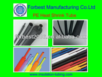 polyolefin heat shrink tube/polyelofin heat shrink sleeving