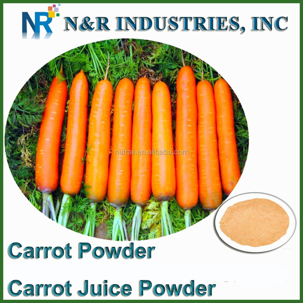 Pure Fresh Carrot Juice Powder 80mesh