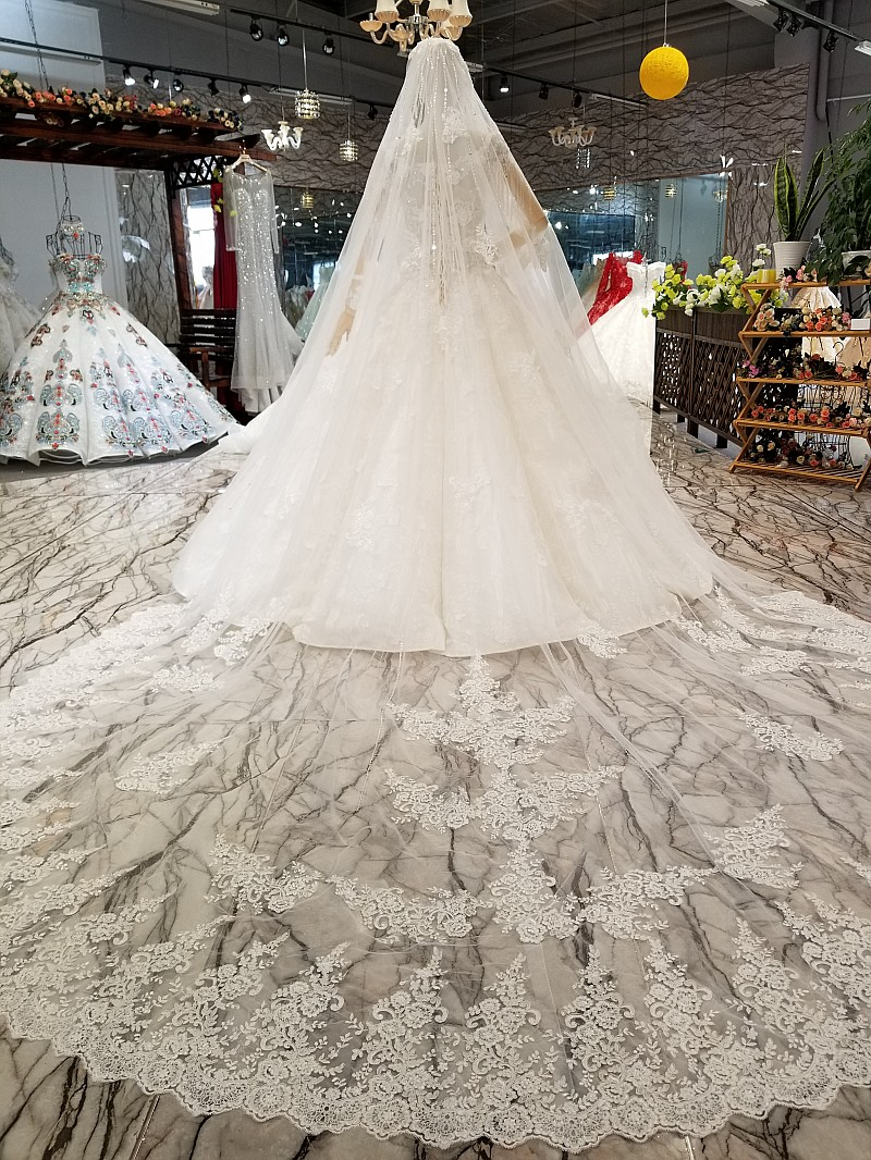 High End Luxury New Wedding Dresses 2018 Wedding Gowns Hijab Wedding Lace Philippines With Sleeves Buy Wedding Dresses 2018wedding Dresseslace