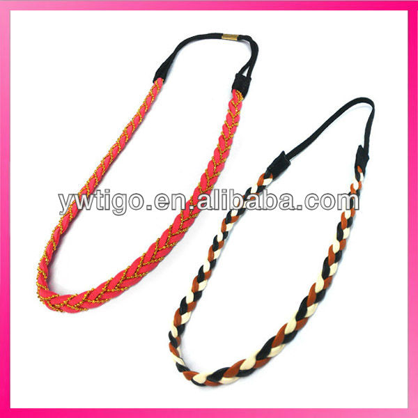 Wholesale women's braided head band