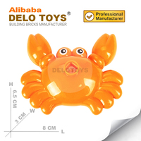 Plastic toys Building bricks blocks parts animal Crab (DW018)