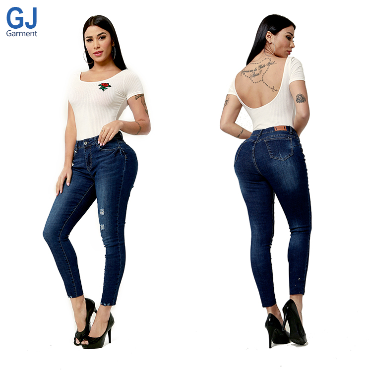 New Fashion Nova Push Up Slim Fit Pantalones Trousers Brasileos Colombianos Brand Branded Butt Lift Skinny Female Pants Jeans Blue Buy At The Price Of 15 00 In Alibaba Com Imall Com