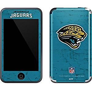 NFL Jacksonville Jaguars iPod Touch (1st Gen) Skin - Jacksonville Jaguars Distressed Vinyl Decal Skin For Your iPod Touch (1st Gen)