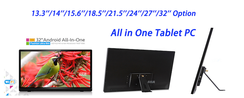 "factory OEM android tablet 13.3"" , 14"", 15.6"" , 18.5"" , 21.5"" , 24"" , 27"" , 32 """