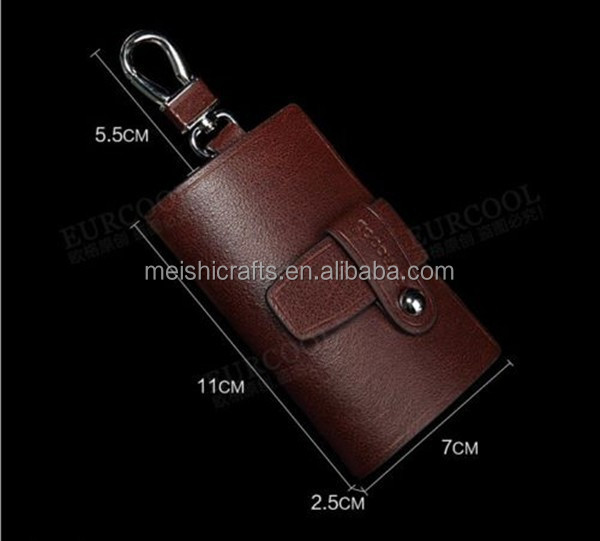 4a43d07bc01c Véritable portefeuille en cuir hommes clés de voiture accessoire porte clé  étui portefeuille ...