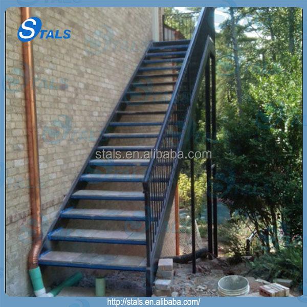 Usine personnalis en fer forg escalier ext rieur prix for Prix escalier exterieur