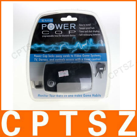 POWER-COP AC Power Outlet Electronics Key Game Timer Controller