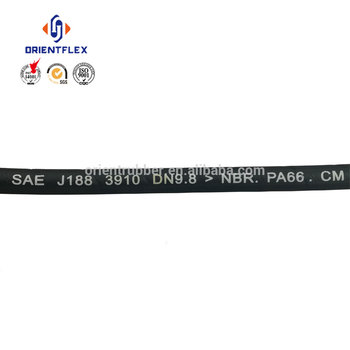 Reliable smooth surface oil resistant system 3/8 inch power steering hose factory supplier