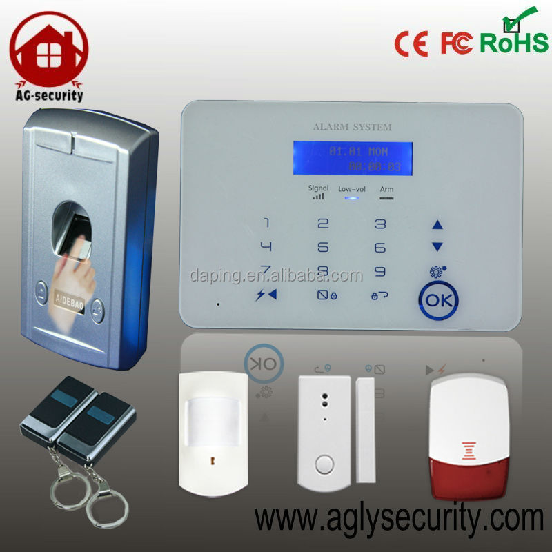 fingerprint lock, fingerprint safe, fingerprint remote control security alarm system