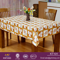 Chinese export househole european printing table cloth
