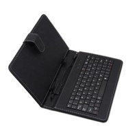 PU Material Tablet wired keyboard with colorful protective case for samsung galaxy note 3