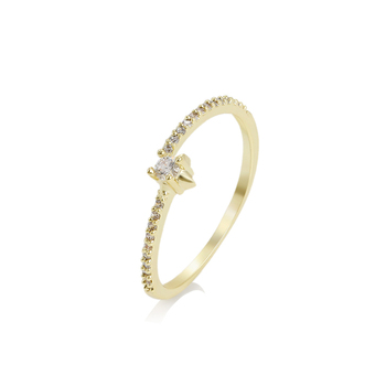 14804 Xuping Simple Shape Light Weight 14k Gold Plated Ring,Elegant  Delicate Thin Ring,Ring For Women - Buy 14k Gold Plated Ring,Thin Ring,Ring  For