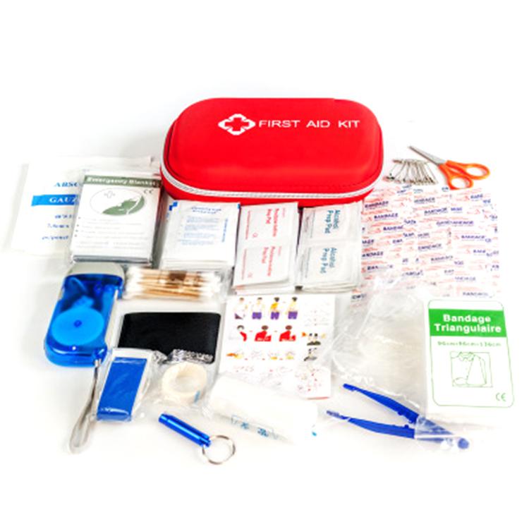 Tragbare Erste-Hilfe-Kit Camping Medizinischen Bereich Überleben Apotheke Taschen First Aid Kit für Notfall