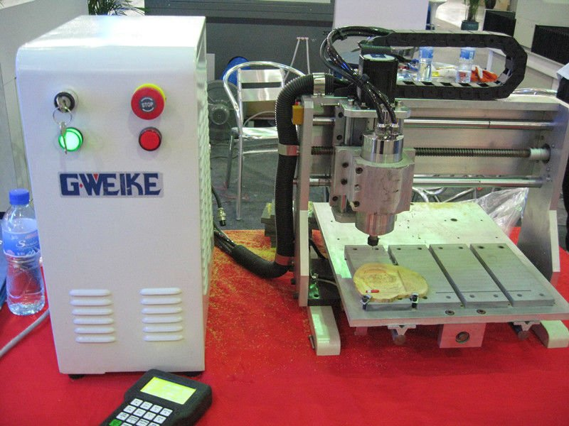 mini waterjet cutting desk router WK2030