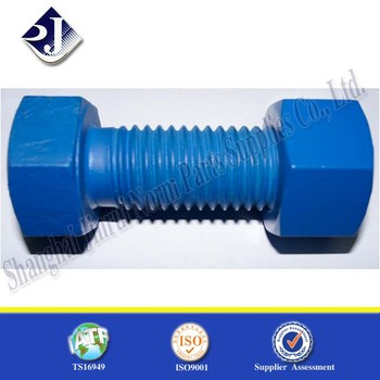 Blue Colored Titanium Bolts With Nut M36 Carbon Steel - Buy Hex Bolt,M18  Hex Bolt,Stainless Hex Bolts A2-70 Product on Alibaba com
