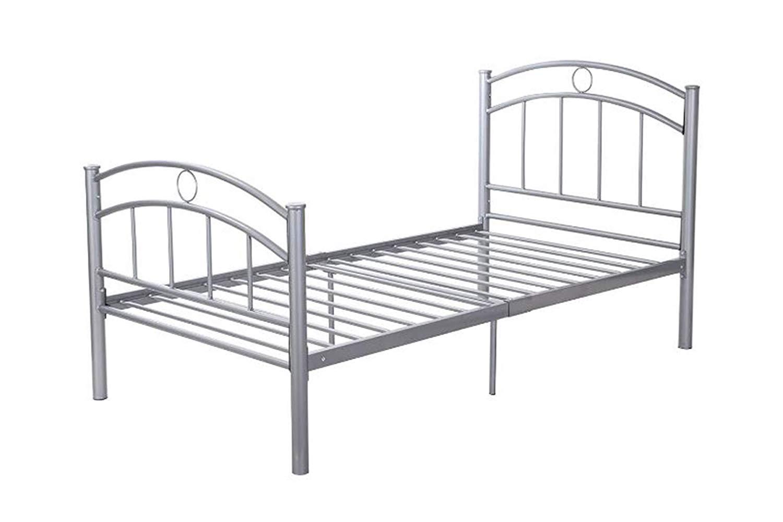 """Home Furniture Bed Metal Frame Sliver Bedroom Platform 83"""" x 42"""" x 35"""" + eBook"""