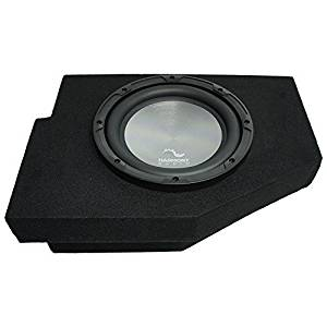 "2002-2015 Dodge Ram Quad / Crew Truck Harmony A102 Single 10"" Sub Box Enclosure"