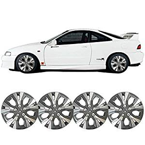 Wheel Covers Fits Nissan 15 Inch Hub Caps Hubcap Wheel Cover Rim Skin Covers 4PC by IKON MOTORSPORTS