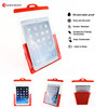 2016 new product vertical waterproof bag for ipad mini, special fit for Swimming pool,kitchen waterproof case