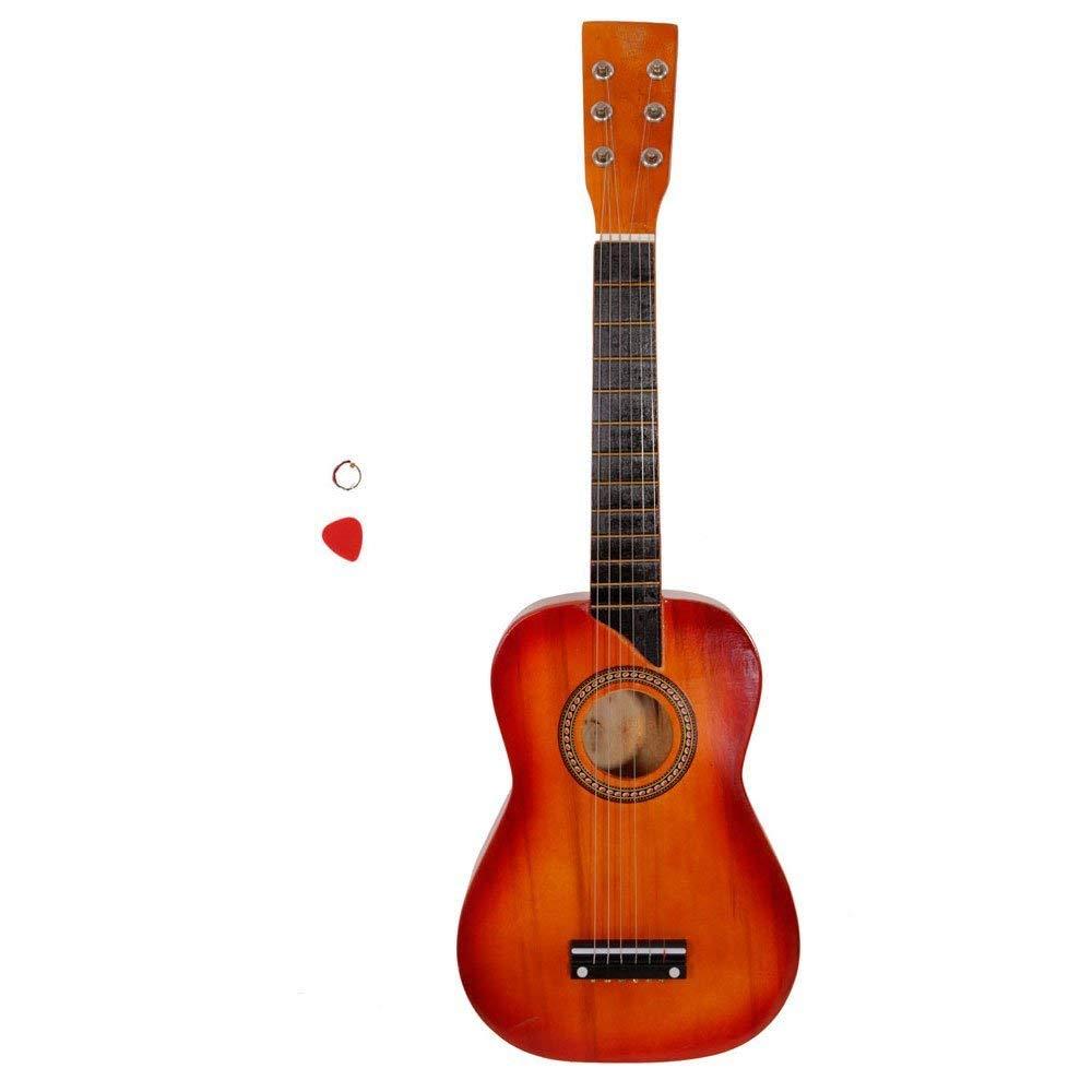 "Soogo 25"" Acoustic Guitar + Pick + String for Beginners (mahogany)"
