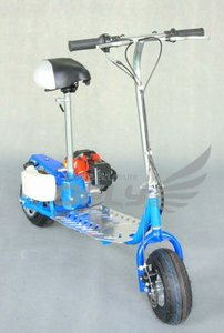49CC CE Approved Foldable gas scooter kit parts with Steel Board