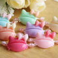 Beautiful Children Hair Accesssories Wholesale Lovely K itty Cat Charm Hair Pull Clip Baby Hairpins 30pcs